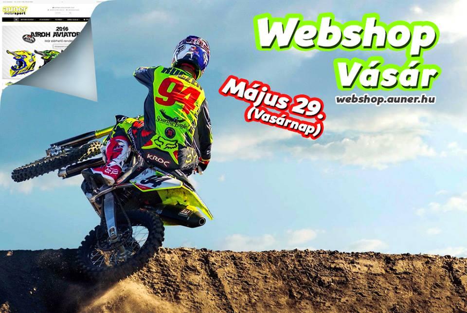 Auner Webshop Vásár - Május 29.