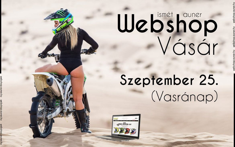 Auner Webshop Vásár szeptemberr 25