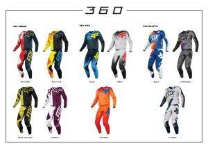 Fox Racing 2018 360 ruhaszettek