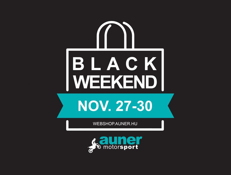 Black Friday akció, egy teljes hétvégén keresztül az Auner Motorsportnál!
