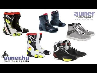Motoros cipők, csizmák | auner.hu Motoros Magazin | Auner Motorsport Budapest #5